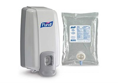 Manual Hand Sanitizer Dispenser And Refill