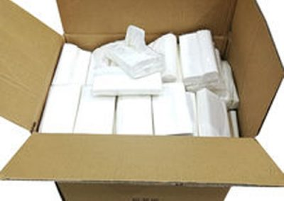 Interfold Hand Towel C Fold Soft Hand Paper Towel Multifold Disposable Luxury Paper White (3000 Hand Towels)