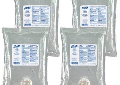 PURELL NXT Advanced Hand Sanitizer Gel, 1000 mL Hand Sanitizer Gel Refill for PURELL NXT Push-Style Space Saver Dispenser (Pack of 4) – 2156-04